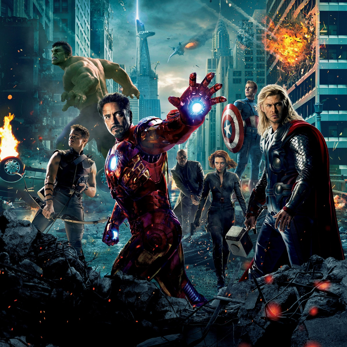 Marvel Cinematic Universe: A White Man's World